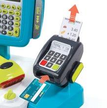 Hry na domácnost - Set úklidový vozík s elektronickým vysavačem Clean Smoby a elektronická pokladna s doplňky_6