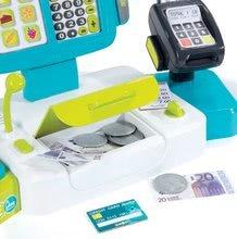 Hry na domácnost - Set úklidový vozík s elektronickým vysavačem Clean Smoby a elektronická pokladna s doplňky_11