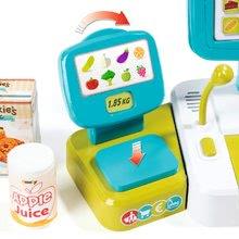 Hry na domácnost - Set úklidový vozík s elektronickým vysavačem Clean Smoby a elektronická pokladna s doplňky_9