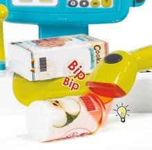 Hry na domácnost - Set úklidový vozík s elektronickým vysavačem Clean Smoby a elektronická pokladna s doplňky_7
