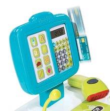 Hry na domácnost - Set úklidový vozík s elektronickým vysavačem Clean Smoby a elektronická pokladna s doplňky_10
