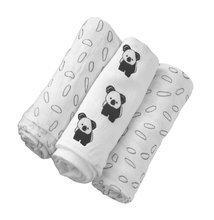 Odejice iz bambusa Bamboo Black&White toTs-smarTrike koala 3 kosi 100% bambus svila