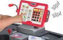 Obchody pre deti - Obchod Supermarket Smoby s elektronickou pokladňou, vozíkom, potravinami a 44 doplnkami biely_2