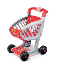 Obchody pre deti - Obchod Supermarket Smoby s elektronickou pokladňou, vozíkom, potravinami a 44 doplnkami biely_3