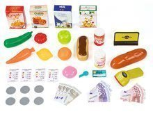 Kuchynky pre deti sety - Set kuchynka Tefal SuperChef Smoby s grilom a kávovarom a obchod Supermarket s dotykovou pokladňou_14
