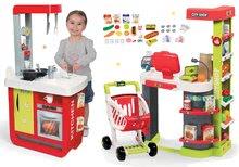 Obchody pro děti sety - 350211set 3 smoby set