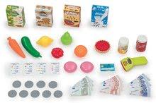 Trgovine kompleti - Komplet trgovina z vozičkom Supermarket Smoby in sladoled s kornetom_11