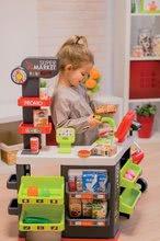 Trgovine kompleti - Komplet trgovina z vozičkom Supermarket Smoby in sladoled s kornetom_3