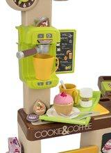 Obchody pro děti sety - Set kavárna s Espresso kávovarem Coffee House Smoby a zmrzlina s kornoutkem jako dárek_1