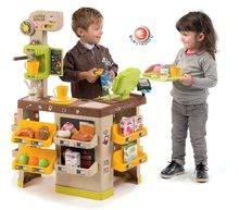 Obchody pro děti sety - Set kavárna s Espresso kávovarem Coffee House Smoby a zmrzlina s kornoutkem jako dárek_5
