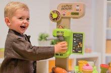 Obchody pro děti sety - Set kavárna s Espresso kávovarem Coffee House Smoby a zmrzlina s kornoutkem jako dárek_10