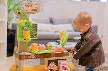 Obchody pro děti sety - Set kavárna s Espresso kávovarem Coffee House Smoby a zmrzlina s kornoutkem jako dárek_9