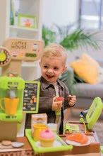 Obchody pro děti sety - Set kavárna s Espresso kávovarem Coffee House Smoby a zmrzlina s kornoutkem jako dárek_13