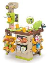 Obchody pro děti sety - Set kavárna s Espresso kávovarem Coffee House Smoby a zmrzlina s kornoutkem jako dárek_15