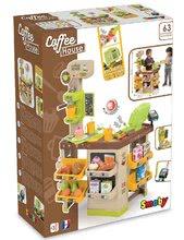 Obchody pro děti sety - Set kavárna s Espresso kávovarem Coffee House Smoby a zmrzlina s kornoutkem jako dárek_17