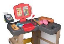 Obchody pro děti sety - Set pekárna s koláči Baguette&Croissant Bakery Smoby s elektronickou pokladnou a zeleninový Bio stánek s vozíkem Organic 100% Chef_8