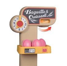 Obchody pro děti sety - Set pekárna s koláči Baguette&Croissant Bakery Smoby s elektronickou pokladnou a zeleninový Bio stánek s vozíkem Organic 100% Chef_6