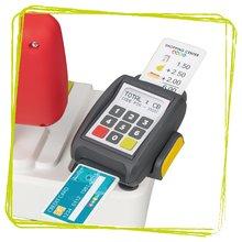 Trgovine za otroke - Trgovina z vozičkom in živili Supermarket Smoby z elektronsko blagajno in skenerjem ter tehtnico z 42 dodatki_5
