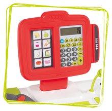 Trgovine za otroke - Trgovina z mešanim blagom MaxiMarket Smoby z elektronsko blagajno in skenerjem ter hladilnikom s 50 dodatki_1