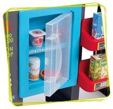 Trgovine za otroke - Trgovina z mešanim blagom MaxiMarket Smoby z elektronsko blagajno in skenerjem ter hladilnikom s 50 dodatki_3
