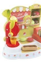 Obchody pre deti - Zmrzlináreň Ice Cream Smoby s pokladňou a 21 doplnkami od 18 mes_0