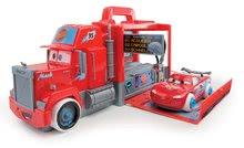 Dětský kamion Auta Ice Smoby elektronický se světlem a zvukem, autíčkem McQueen a 15 doplňky