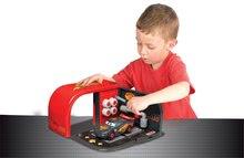 Pracovná detská dielňa - Autoservis Autá Carbon Smoby s náradím a autom McQueen v kufríku_0