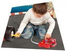 Pracovná detská dielňa - Benzínová pumpa Autá 2 Smoby elektronická so zvukom a svetlom_2