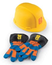 Set de lucru Bob the Builder Smoby cască de protecție și mănuși