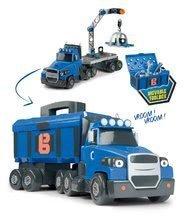 Smoby kamión Bob Two Tons Truck so žeriavom a 60 doplnkami 360164