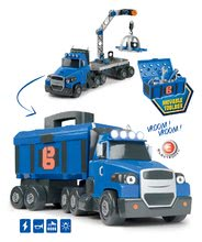 Kamion Bob Two Tons Truck Smoby so zvukom svetlom a 60 doplnkami 43*14*18 cm SM360168