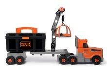 Játék szerelőasztalok - Kamion szerszámos bőrönddel Black&Decker Truck Smoby és 60 kiegészítővel, szerszámokkal_2