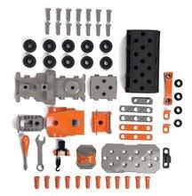 Játék szerelőasztalok - Kamion szerszámos bőrönddel Black&Decker Truck Smoby és 60 kiegészítővel, szerszámokkal_5