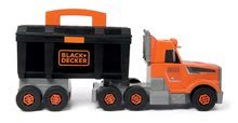 Játék szerelőasztalok - Kamion szerszámos bőrönddel Black&Decker Truck Smoby és 60 kiegészítővel, szerszámokkal_4