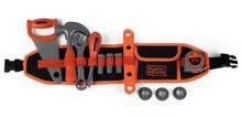 Pracovný opasok Black&Decker Tools Belt Smoby 44 cm dĺžka so 14 doplnkami