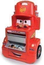 Hry na domácnosť - Set upratovací vozík Smoby s elektronickým vysávačom Rowenta a pracovný stolík Cars_5