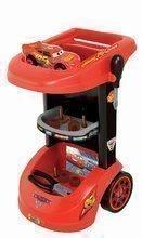 Detská dielňa sety - Set detský pracovný vozík Autá Smoby so skladacím autíčkom a elektronický trenažér V8 Driver _0