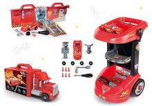 Szett szerelő kocsi Verdák 3 Smoby és kamion Mack Truck elektronikus