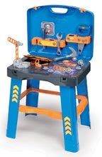 Pracovný stôl Ready 2 Go Bob the Builder Smoby v kufríku s 22 doplnkami 43*35*77 cm SM360311