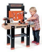 Detská dielňa sety - Set pracovná dielňa Black+Decker Smoby s vŕtačkou a elektronický trenažér V8 Driver_0