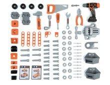 Detská dielňa sety - Set pracovná dielňa Black+Decker Smoby s vŕtačkou a elektronický trenažér V8 Driver_10