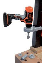 Detská dielňa sety - Set pracovná dielňa Black+Decker Smoby s vŕtačkou a elektronický trenažér V8 Driver_1