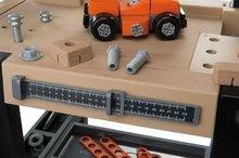 Otroška delavnica - Delavnica Black+Decker Smoby z mehanskim vrtalnikom in avtomobilčkom z 92 dodatki_10