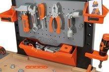 Dětská dílna sety - Set pracovní dílna Black&Decker Smoby elektronická a úklidový vozík s elektronickým vysavačem_0