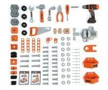 Dětská dílna sety - Set pracovní dílna Black&Decker Smoby elektronická a úklidový vozík s elektronickým vysavačem_9