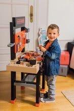 Dětská dílna sety - Set pracovní dílna Black&Decker Smoby elektronická a úklidový vozík s elektronickým vysavačem_12