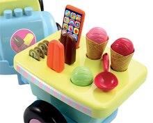Odrážadlá od 12 mesiacov - Odrážadlo Écoiffier so zmrzlinovým vozíkom 100 % Chef od 12 mes_3