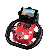 Trenažér pre deti - Elektronický volant City Driver Smoby so zvukom, svetlom a nadstavcom_1