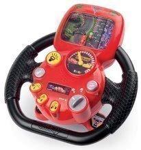 Smoby detský trenažér Autá 3 V8 Driver elektronický volant 370106
