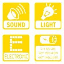 Simulator za djecu - Simulator V8 Driver Smoby električni sa zvukom i svjetlom_11